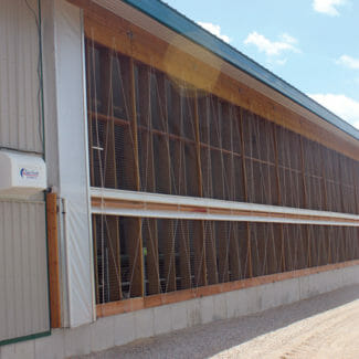 SunNorth Roll Over Curtain System